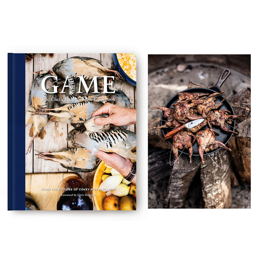 Game Cookbook & Manchester Farms Quail 24-pack