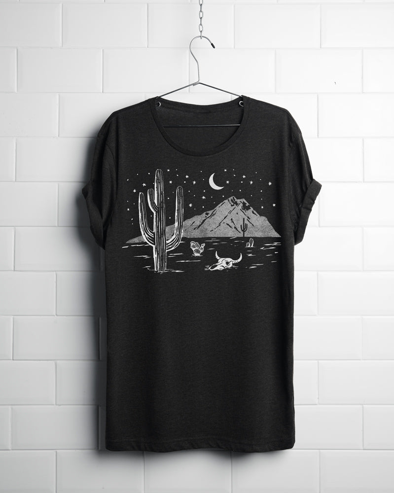 desert night shirt