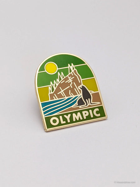 Olympic National Park Enamel Pin