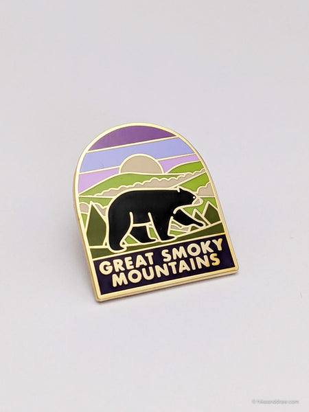 Great Smoky Mountains National Park Enamel Pin