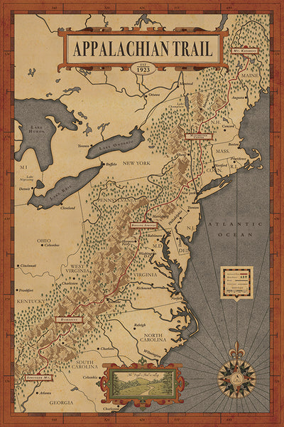 Appalachian Trail Map on map of florida, mount mitchell, shenandoah national park, map of university heights, blue ridge mountains, pacific crest trail, map of anna ruby falls, map of standing stone trail, skyline drive, great smoky mountains national park, map of ozark highlands trail, north country trail, clingmans dome, appalachian mountains, map of natchez trace trail, mount rogers, map of va creeper trail, brasstown bald, map of hunting, mount katahdin, map of national scenic trails, map of finger lakes trail, great smoky mountains, map of appalachia, continental divide trail, map of appalachian ohio, map of georgia, appalachian trail conservancy, blood mountain, map of arizona trail, springer mountain, map of tanawha trail, map of cumberland trail, map of billy goat trail, map of erie canalway trail, map of civil war trails, long trail, map of ruggles mine,