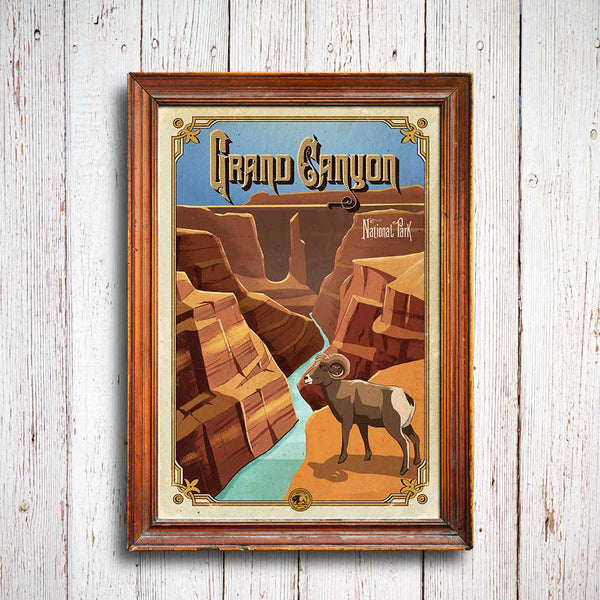 Grand Canyon National Park Poster