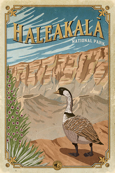Haleakala National Park Poster