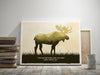 moose art canvas