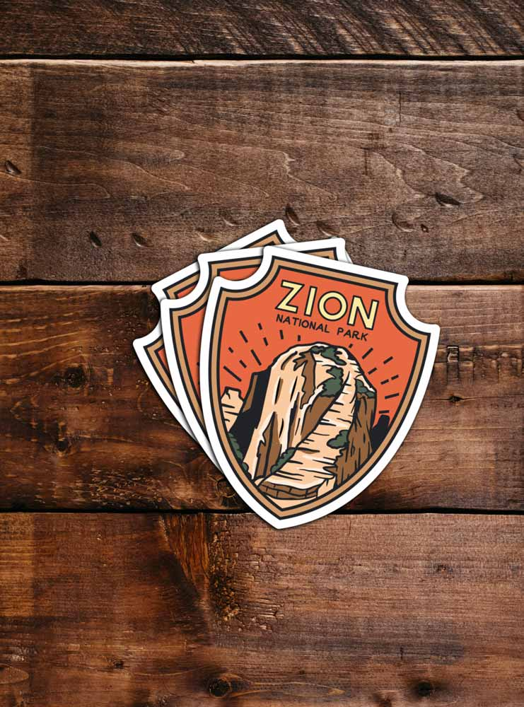 Zion National Park Sticker