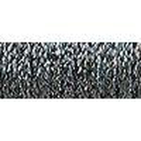 Kreinik #12-Kreinik-Fleur de Paris-Steel Gray HL 010HL-KC Needlepoint
