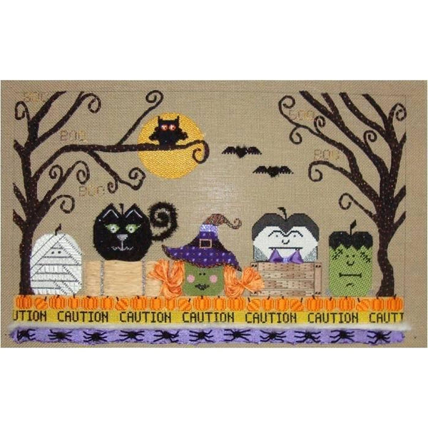 Spooktacular Needlepoint Canvas - needlepoint