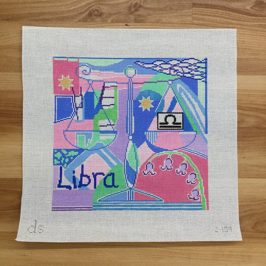 Libra Zodiac Canvas