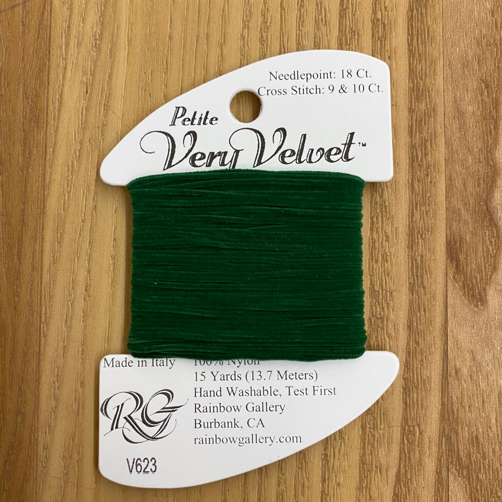 Petite Very Velvet V623 Dark Green - KC Needlepoint
