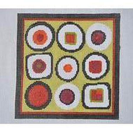 Sushi Canvas-Needlepoint Canvas-Pippin-KC Needlepoint