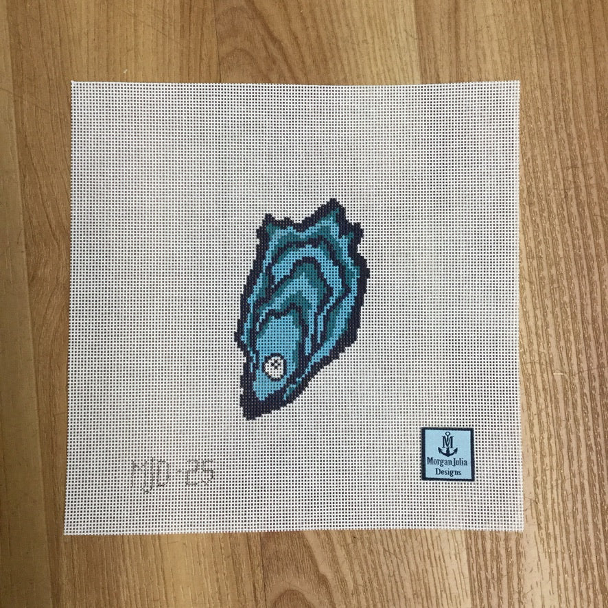 Oyster and Pearl Canvas - needlepoint