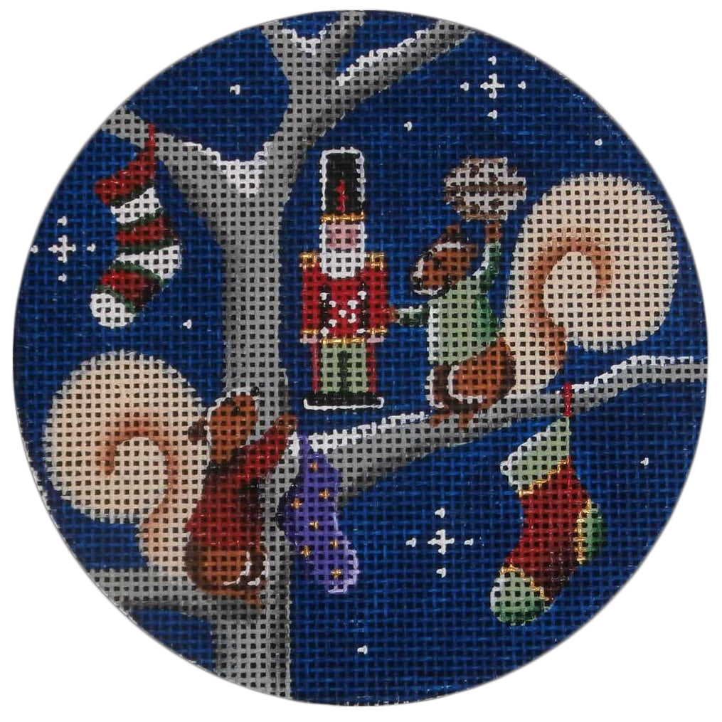 Perfect! Round Canvas - KC Needlepoint