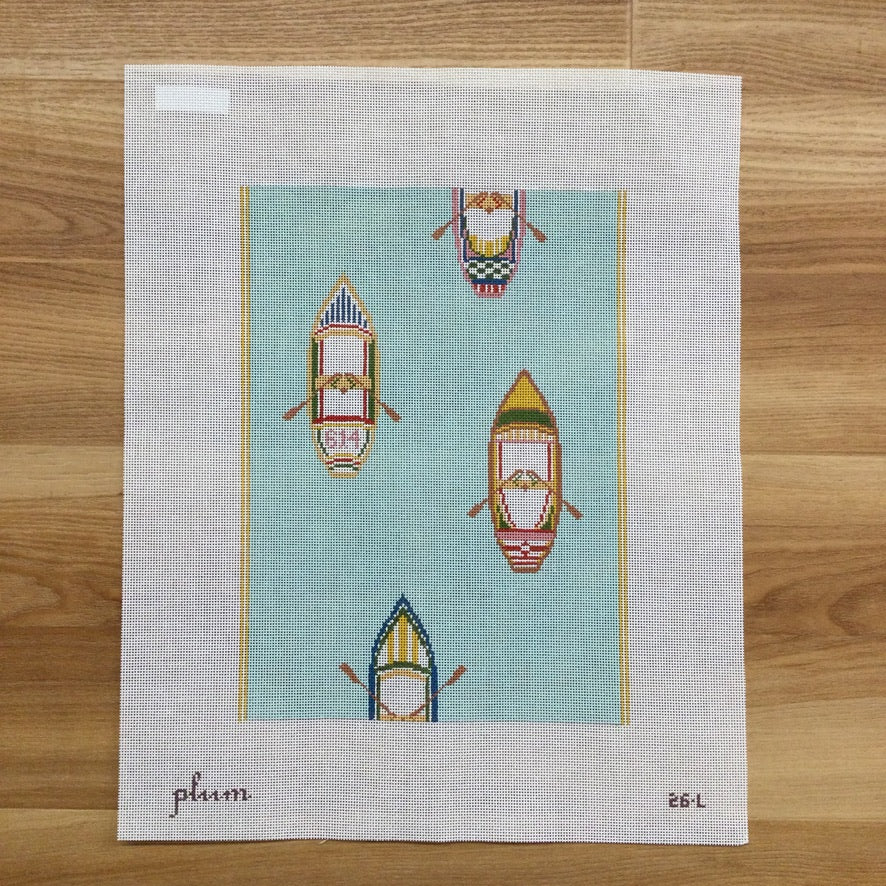 The Regatta Canvas - KC Needlepoint