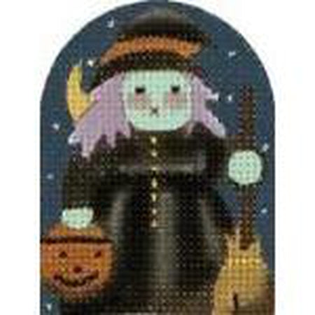 Witch Needlepoint Canvas
