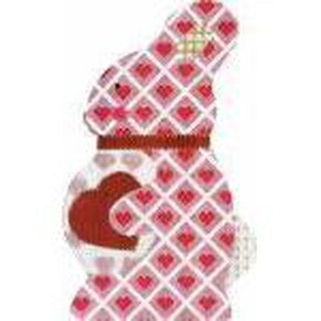 Sweet Heart Bunny Needlepoint Canvas