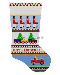 Drummers Stripe Stocking Canvas