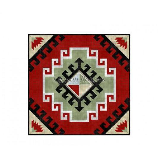 Kilim Needlepoint Canvas-Needlepoint Canvas-Susan Roberts-KC Needlepoint