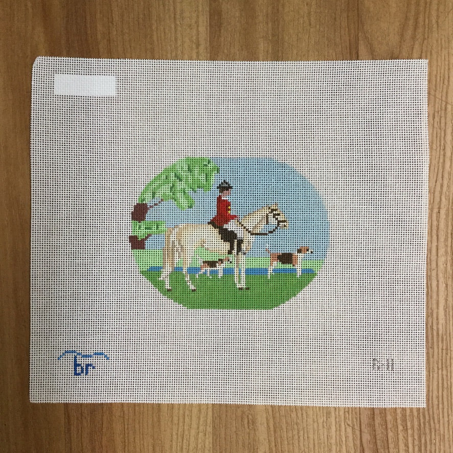 Hunt Club Canvas - needlepoint