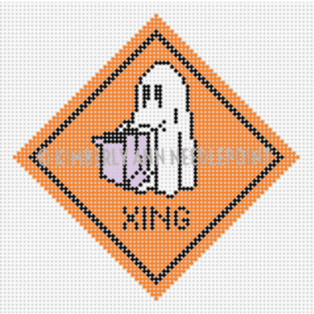 Trick or Treaters Xing Canvas - KC Needlepoint