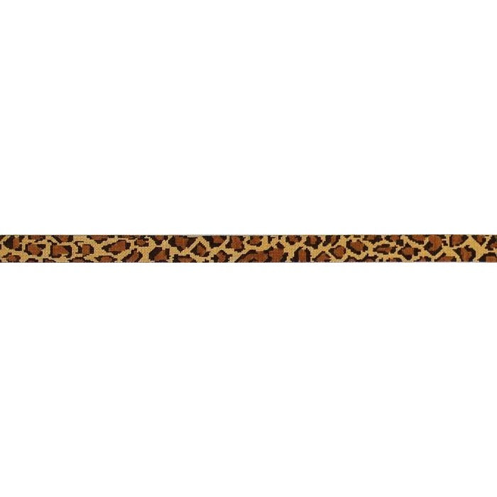 Leopard Skin Belt Canvas-Needlepoint Canvas-The Meredith Collection-18 mesh-Stitch 2 turn rows extra-KC Needlepoint