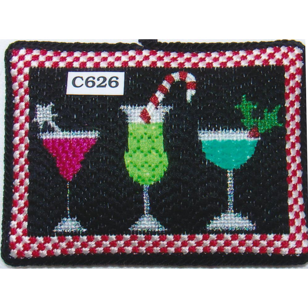 Drinks on Me Canvas-Needlepoint Canvas-Princess & Me-KC Needlepoint
