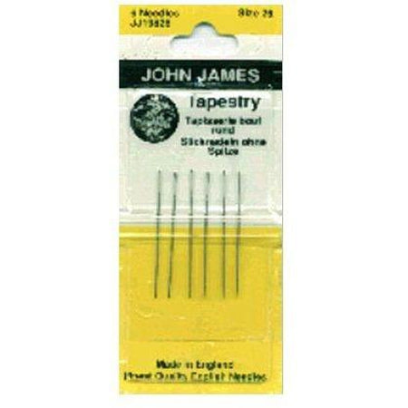 John James #28 Tapestry Needles - KC Needlepoint