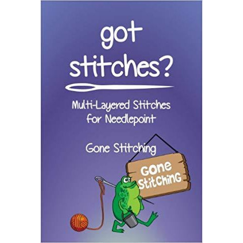 Got Stitches Book-Accessories-Gone Stitching-KC Needlepoint