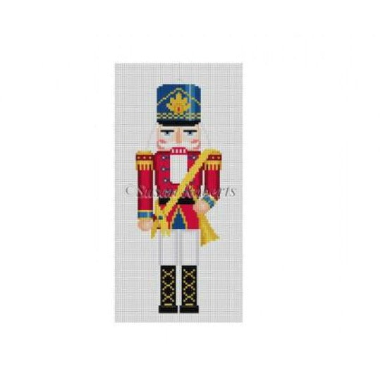 Trumpeter Nutcracker Canvas - needlepoint