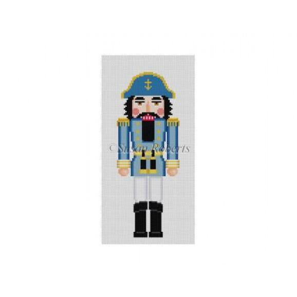 Sea Captain Nutcracker Canvas