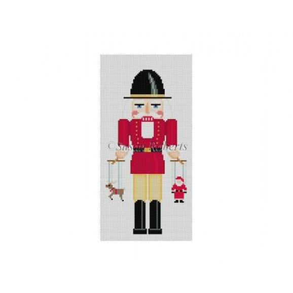 Puppet Maker Nutcracker Canvas-Needlepoint Canvas-Susan Roberts-KC Needlepoint