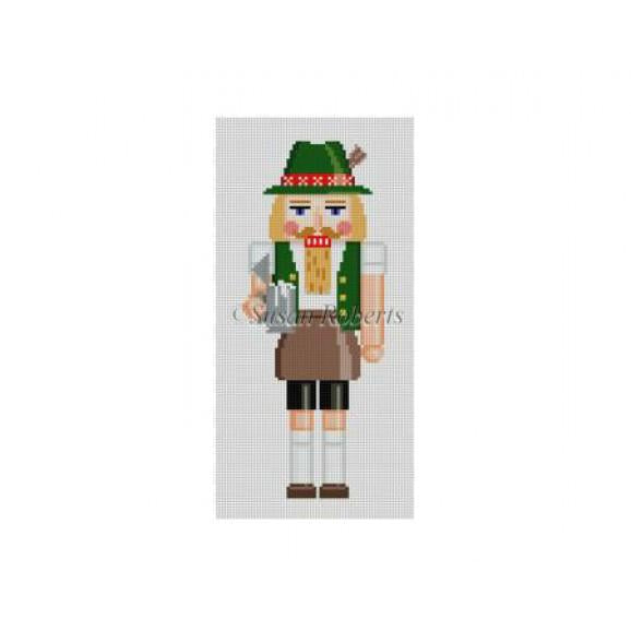 Beermeister Nutcracker Canvas - needlepoint