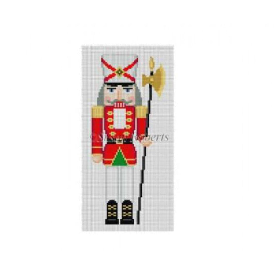 Sentry Nutcracker Canvas - needlepoint
