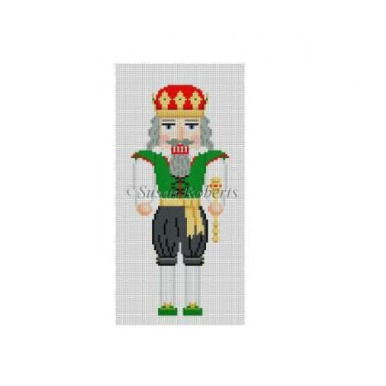 King Nutcracker Canvas - needlepoint