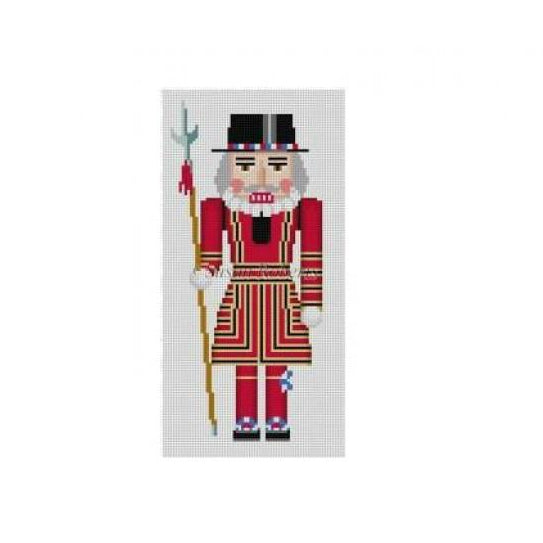 Beefeater Nutcracker Canvas - needlepoint