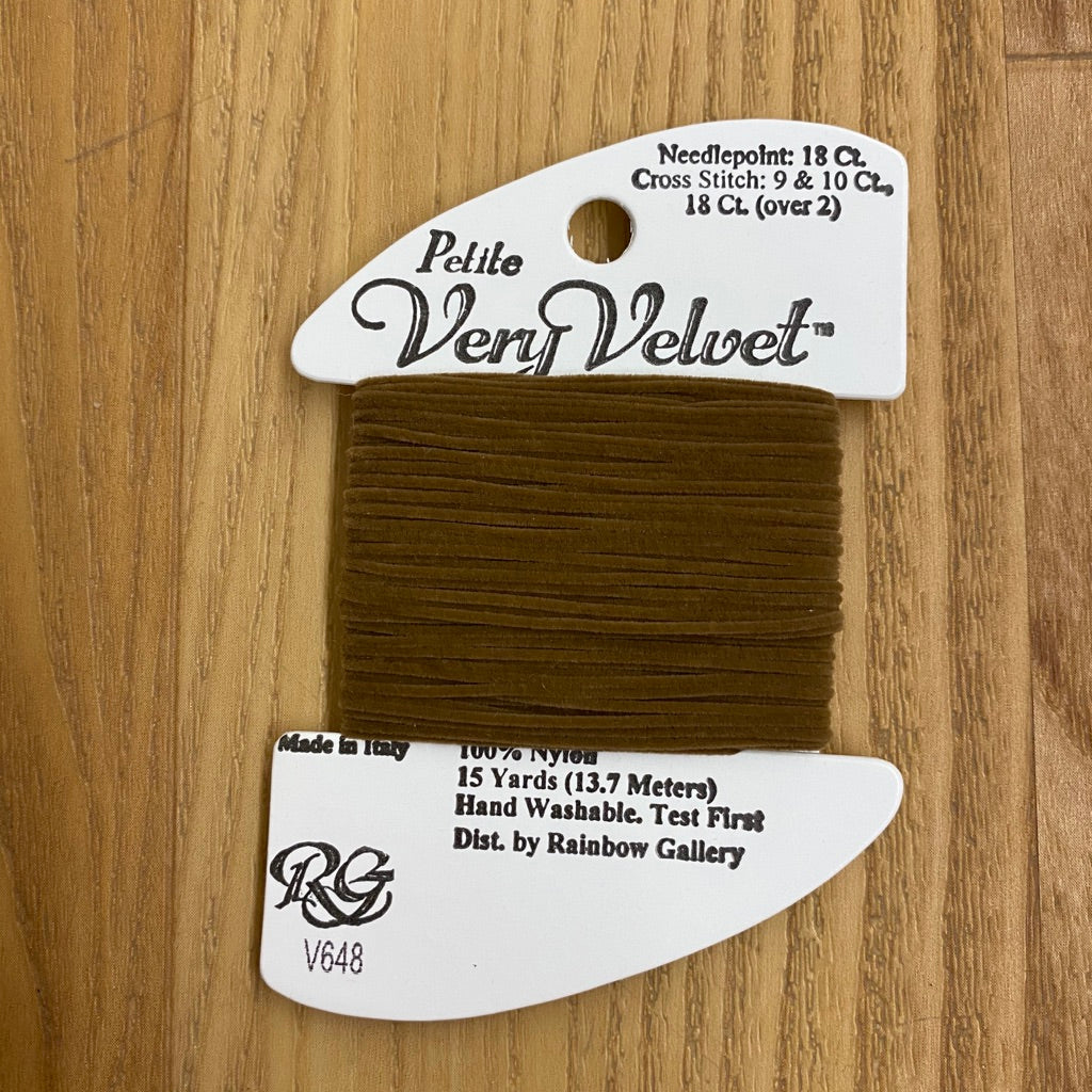 Petite Very Velvet V648 Very Dark Fawn - KC Needlepoint