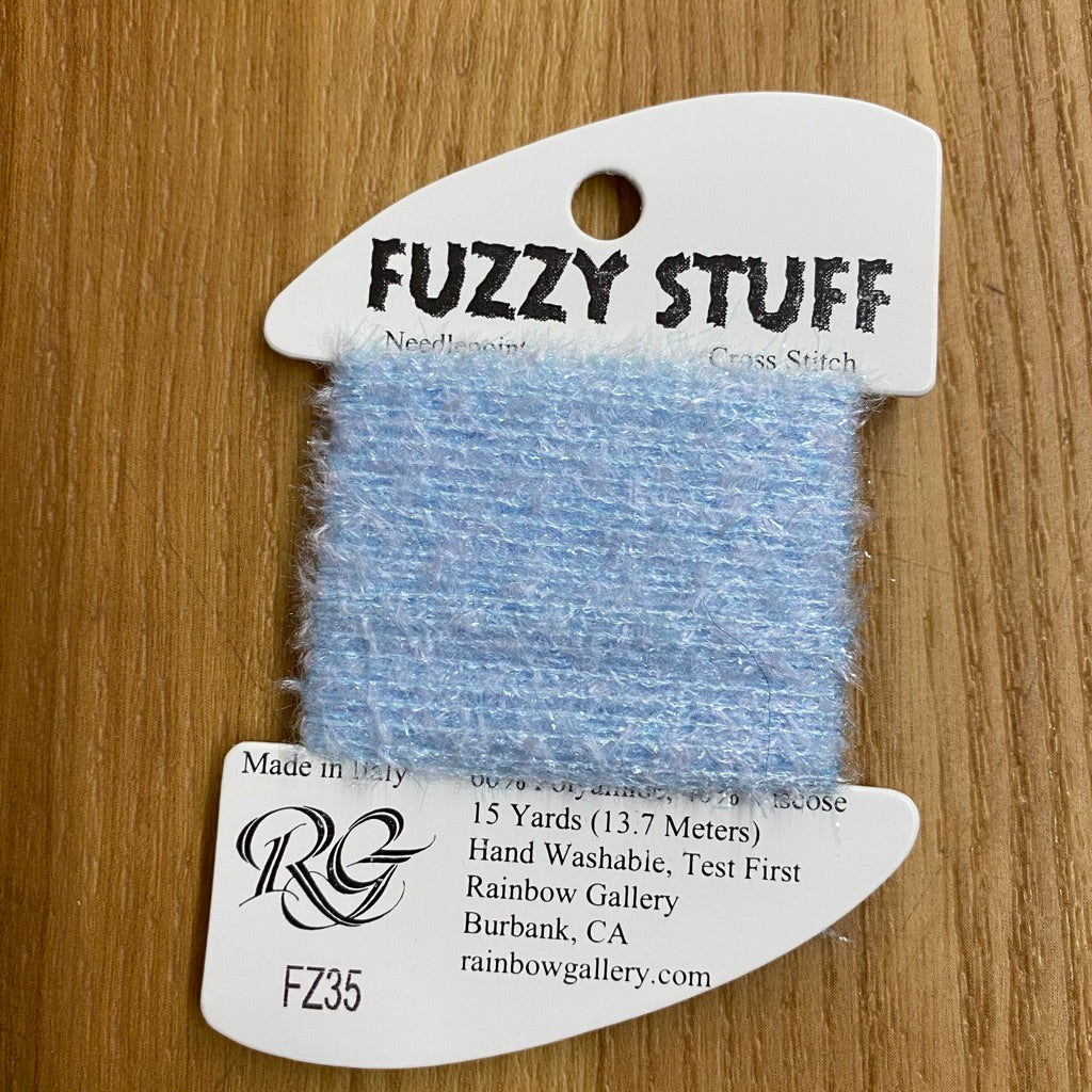 Fuzzy Stuff FZ35 Pale Blue - needlepoint