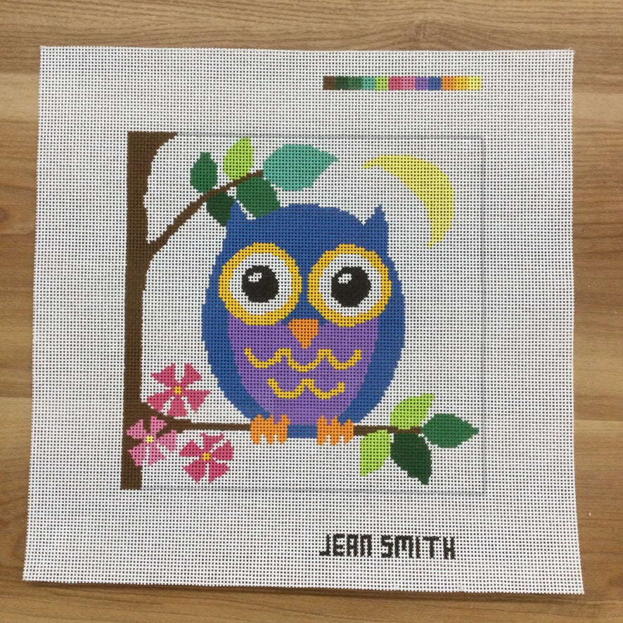 Owl Square Canvas