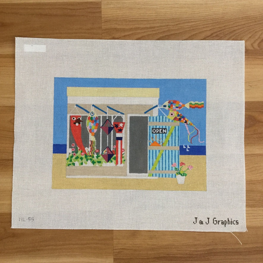 Windsocks Needlepoint Canvas