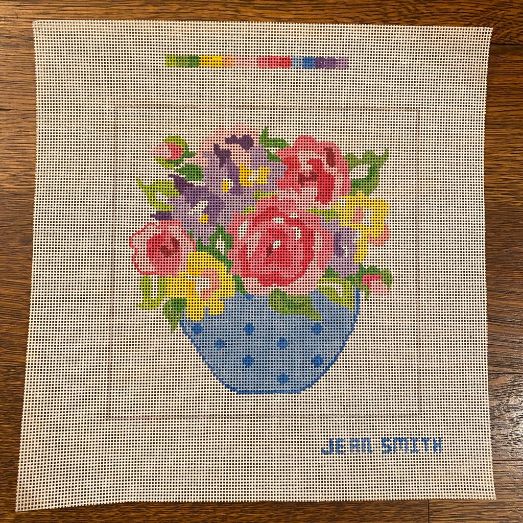 Small Matisse Table #10 Canvas - needlepoint