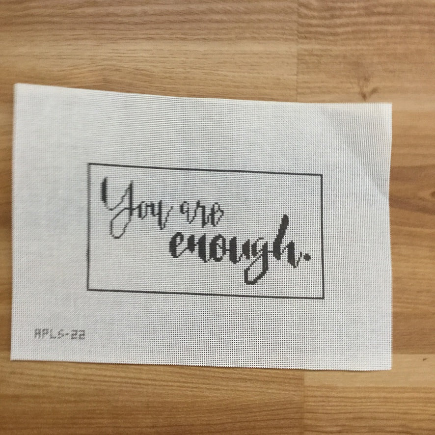 You Are Enough Canvas
