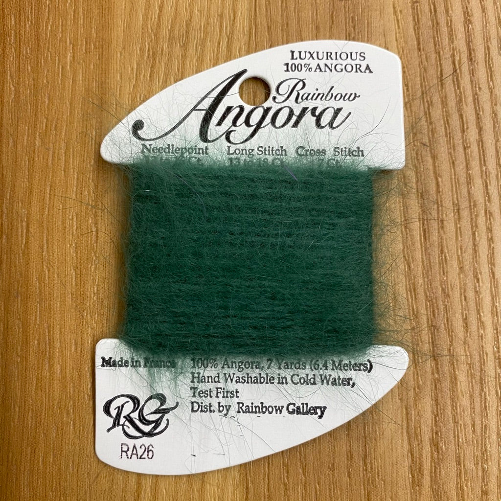 Rainbow Angora RA26 Evergreen - needlepoint