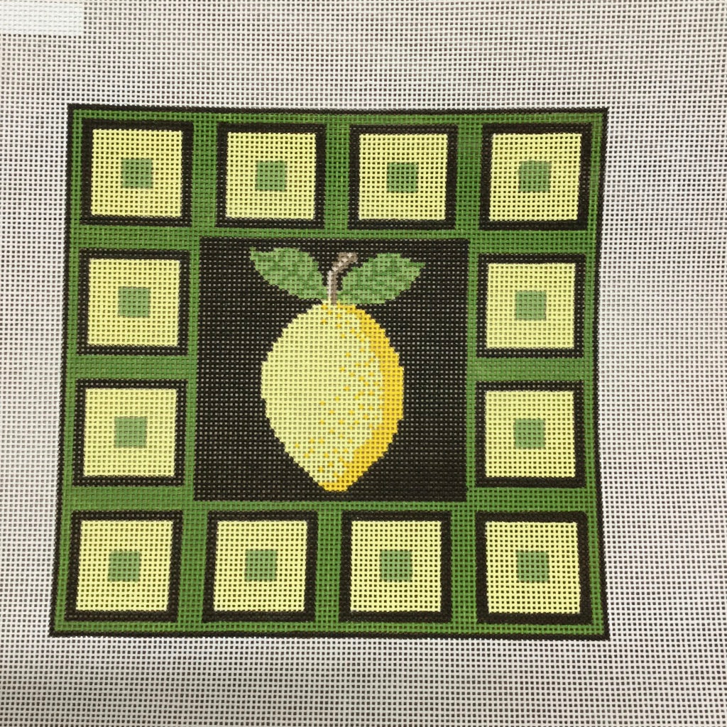 Lemon Squares Canvas-Needlepoint Canvas-J. Child Designs-KC Needlepoint