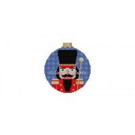 Bandmajor Nutcracker Round Canvas-Needlepoint Canvas-Susan Roberts-KC Needlepoint