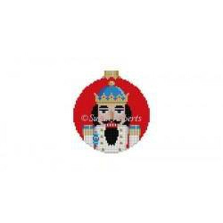 King Nutcracker Round Canvas