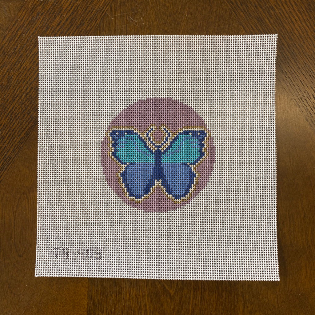 Butterfly Round Canvas