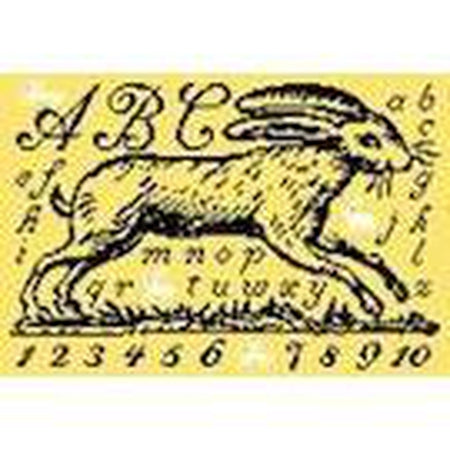 Toile Rabbit Canvas - KC Needlepoint