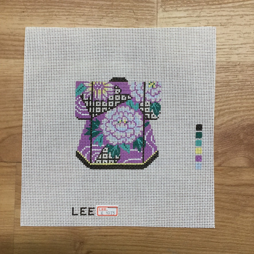 Lavender Kimono Canvas-Needlepoint Canvas-Lee Needle Arts-KC Needlepoint
