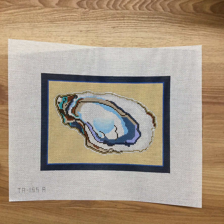 Aw Shucks Oyster Canvas - KC Needlepoint