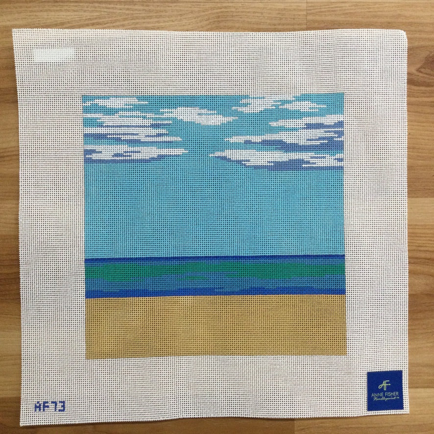 A Perfect Day Needlepoint Canvas - needlepoint