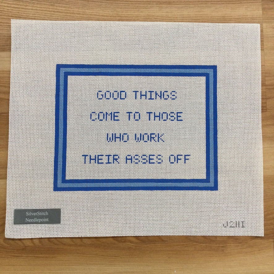 Good Things Come... Canvas